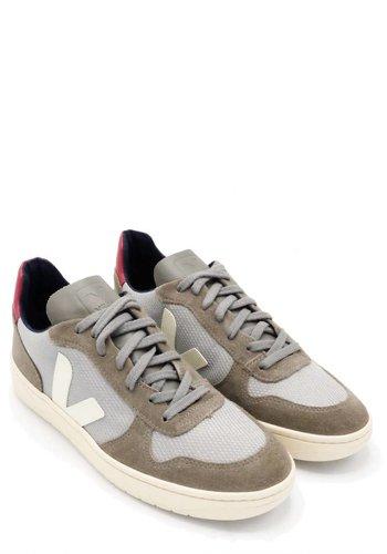 Veja B Mesh Silver Sneaker