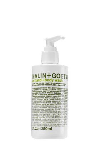 Malin + Goetz Rum Hand + Body Wash Pump