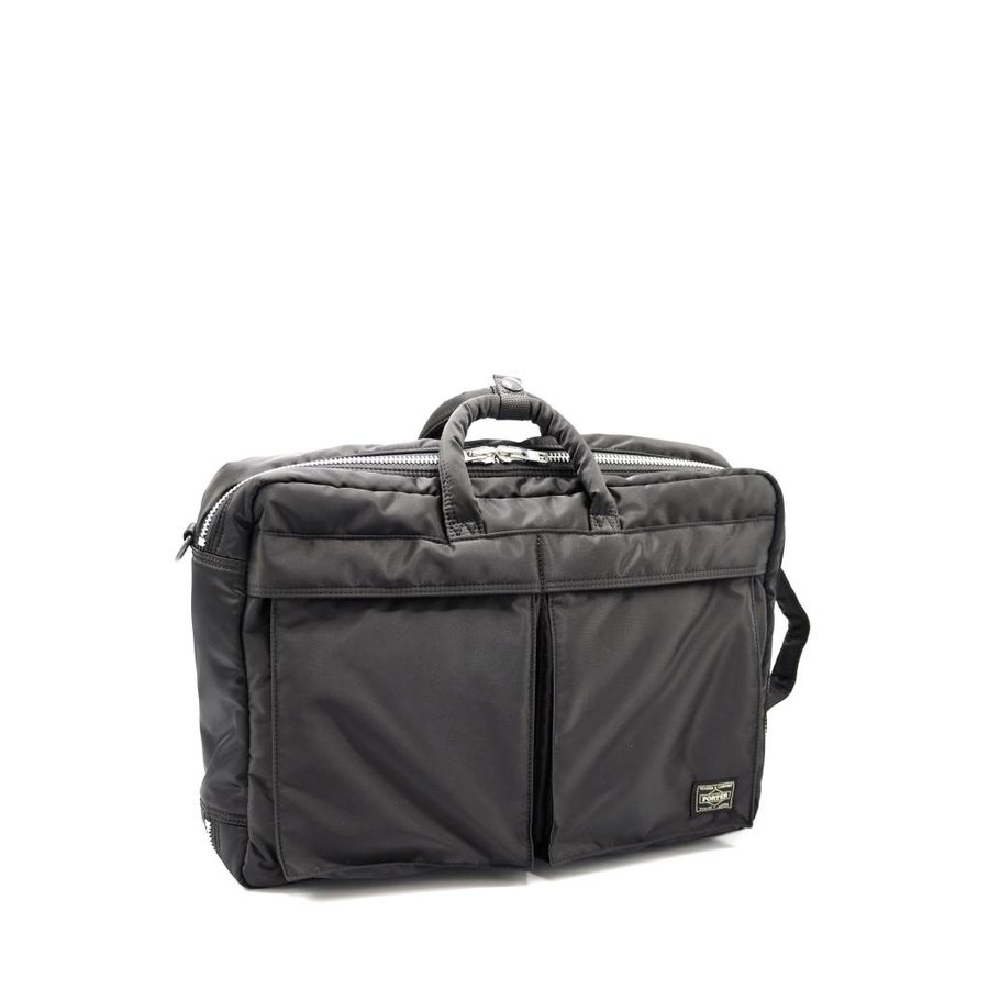Nylon Twill 3 Way Briefcase