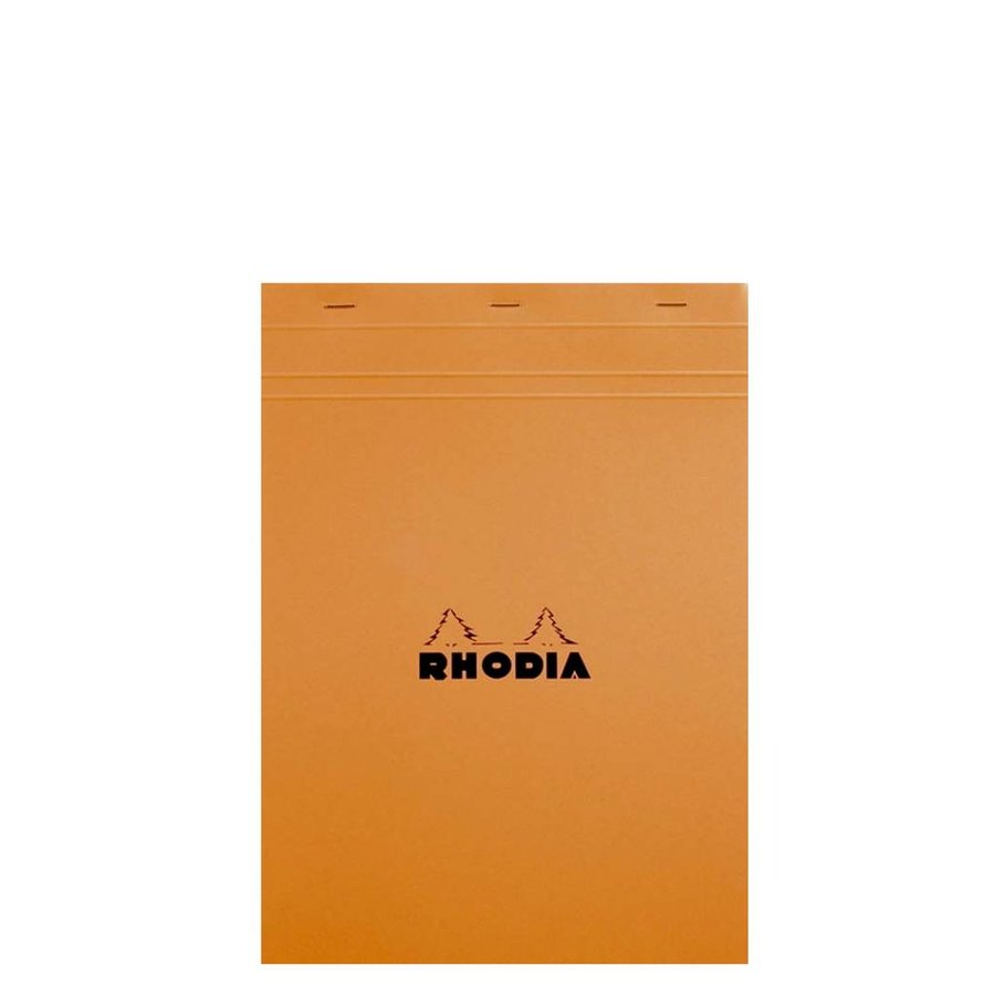 "8"" x 11"" Orange Blank Pad"