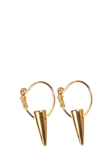 I and I Tusk Hoop Earrings