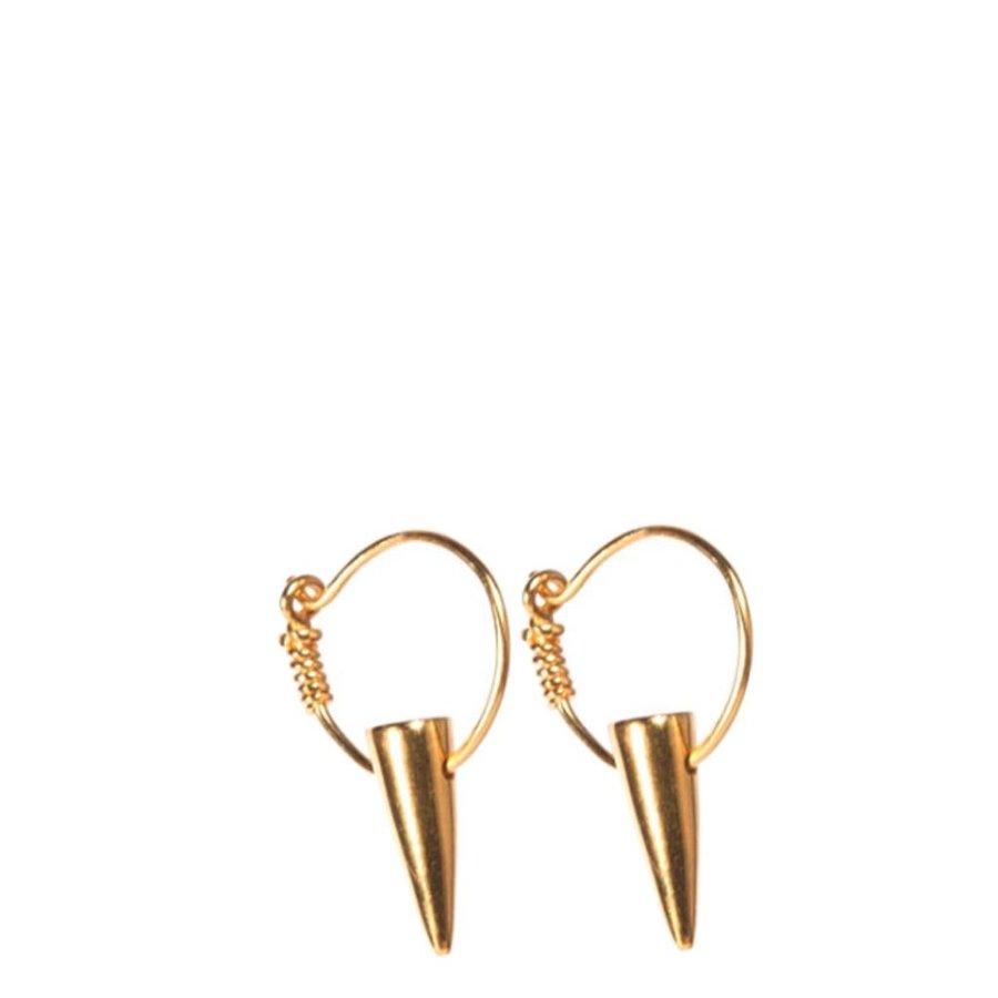 Tusk Hoop Earrings