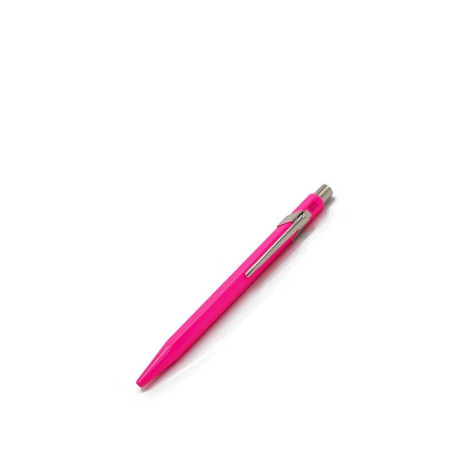 849 Ball Pen Fluorescent Pink