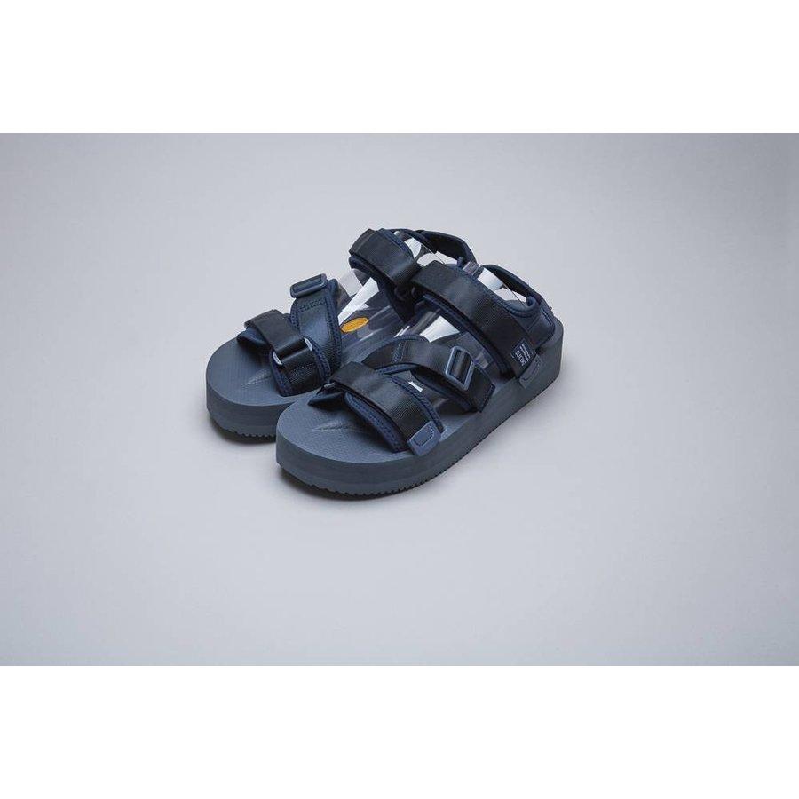 KISEE Three Strap Platform Sandal