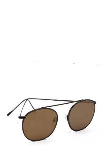 Illesteva Gunmetal Mykonos Sunglasses