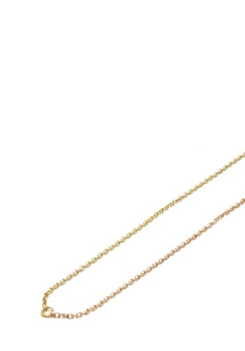 Susumi Studio 14k Yellow and Rose Shared Necklace