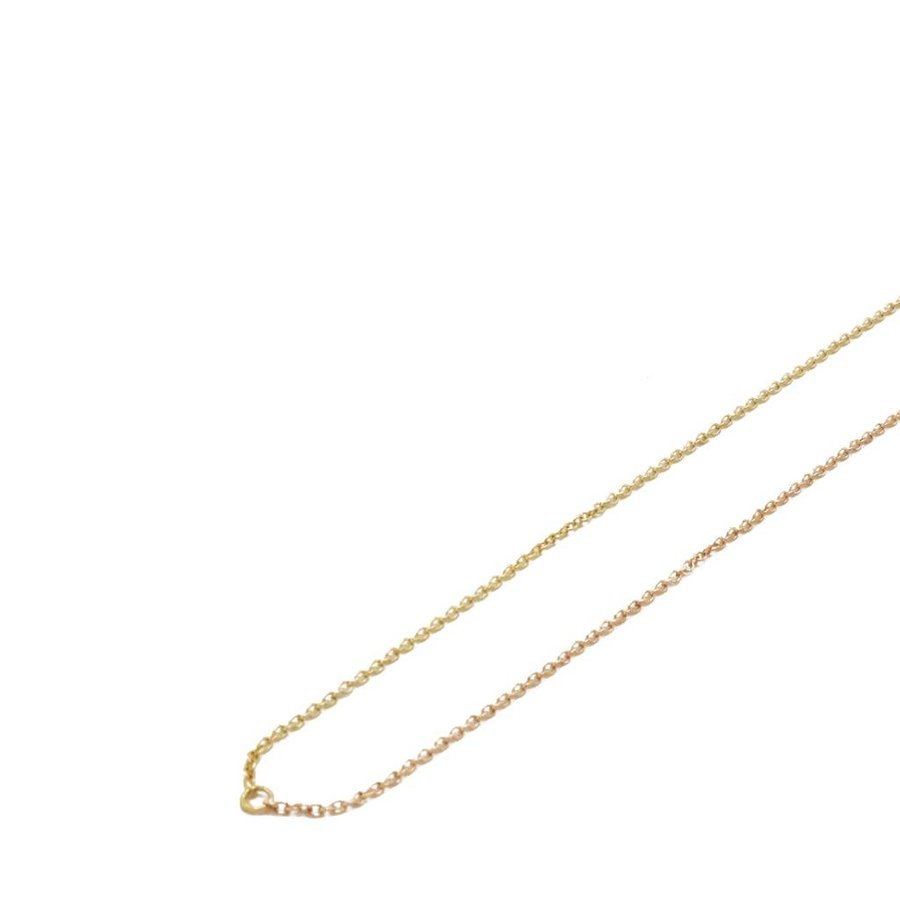 14k Yellow and Rose Shared Necklace