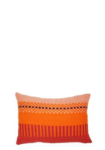 "Bole Road Textiles Amaro Dusk 12"" x 18"" Pillow"