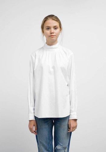 Chimala High Neck Collar Pullshirt