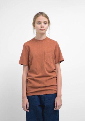 Jungmaven Terracotta 10oz Jersey Short Sleeve Pocket Tee Shirt
