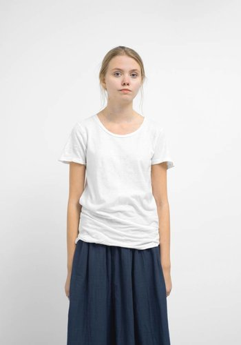 Jungmaven Women's White Tie Dye Basic 30/70 Tee