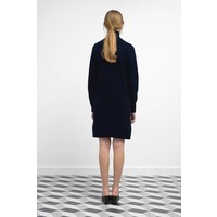Lambswool Roll Neck Knit Dress