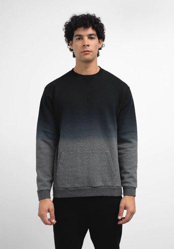 Robert Geller Dip Dyed Crew Sweatshirt