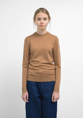 Sunspel Merino Long Sleeve Crewneck Sweater