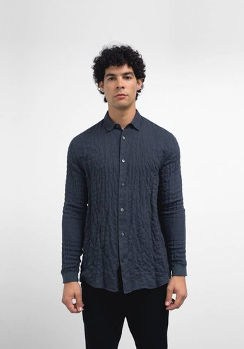 Robert Geller Long Sleeve Cuffed Shirt