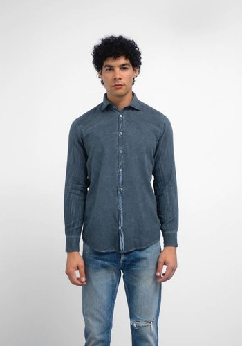 Massimo Alba Cotton Flannel Shirt