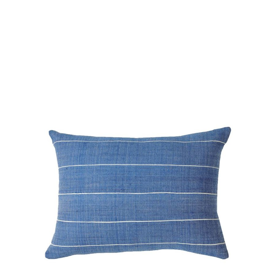 "Melkam Azure 12"" x 16"" Pillow"