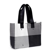 Large Leather Handle Tote