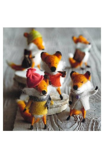 Roost Foxy Fellow Ornaments