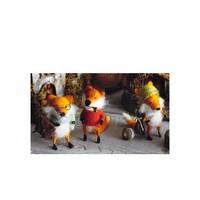 Foxy Fellow Ornaments
