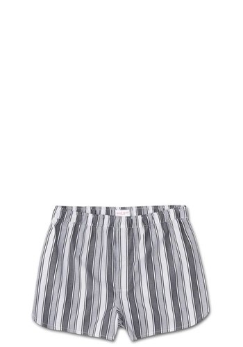 Derek Rose Wide Stripe Modern Fit Cotton Boxer Shorts