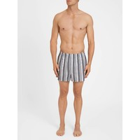 Wide Stripe Modern Fit Cotton Boxer Shorts