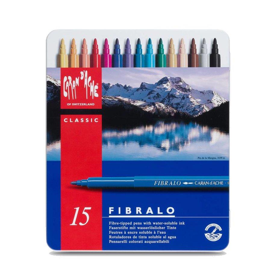 Fibralo Fibre-tipped Markers Set