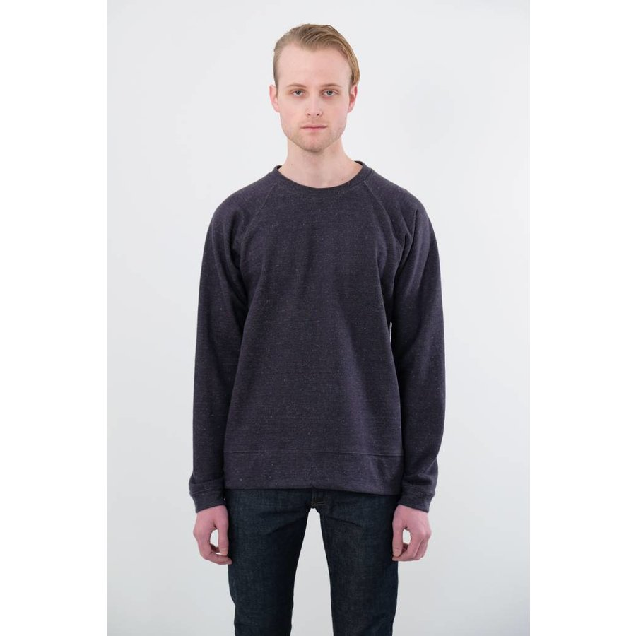 Sierra Raglan Yarn Dyed Fleece Pullover