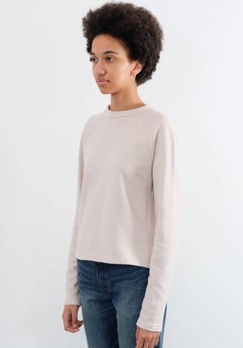 Sunspel Loopback Cropped Crew Sweatshirt
