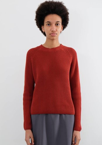 Sunspel Cropped Boxy Crew Jumper
