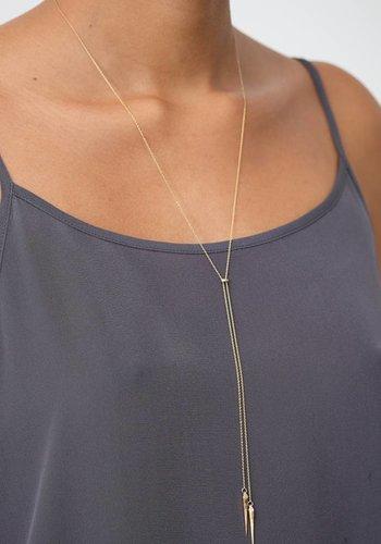 Tilda Biehn Convex Lariat Necklace