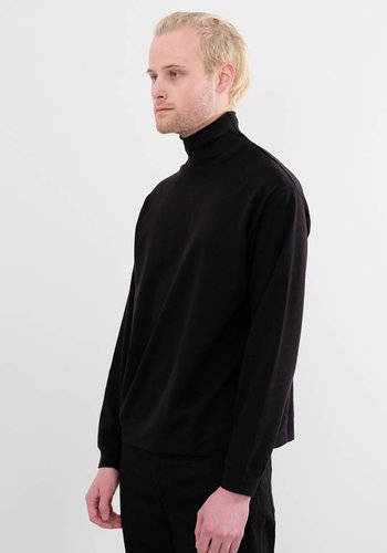 Robert Geller Mesh Rib Long Sleeve Tee