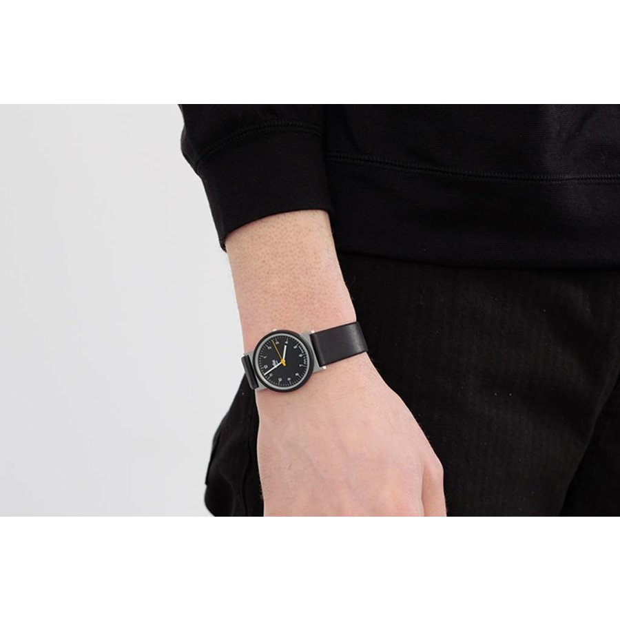 AW10 Re-Edition Watch with Numbered Black Face