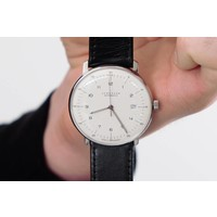 Max Bill Automatic Watch with Date