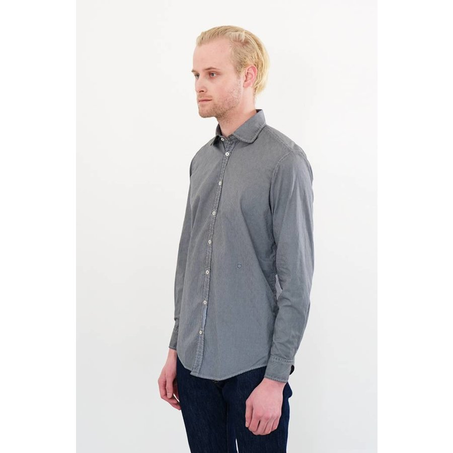 Canary Over Dyed Gingham Woven Shirt