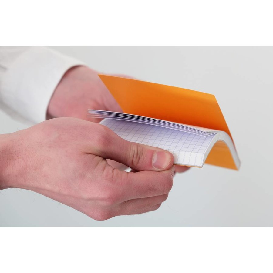 "4"" x 6"" Orange Graph Pad"