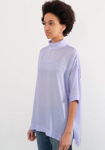Chimala High Neck Half Sleeve Pull Shirt