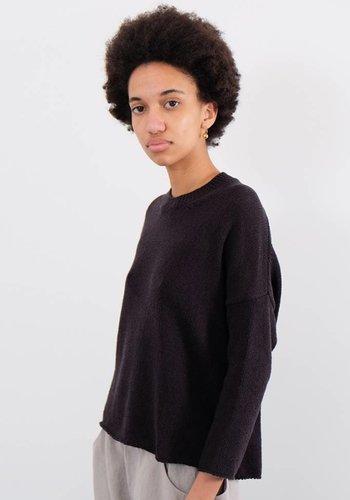 Evam Eva Soft Cotton Coil Pullover