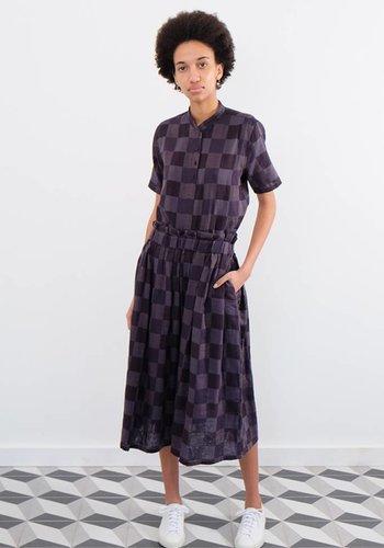 Wrk-Shp Cotton Double Gauze Draft Skirt