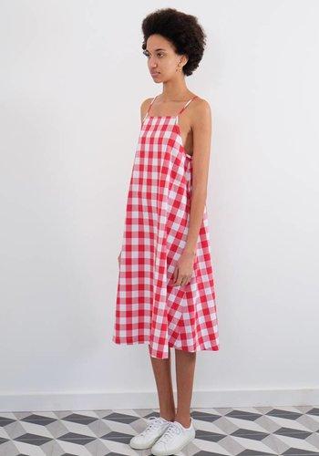 Wolcott:Takemoto Joni Cotton Gingham Dress