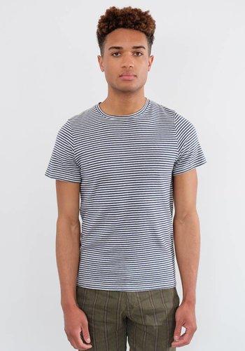 Jungmaven 7oz Baja Striped Short Sleeve Tee