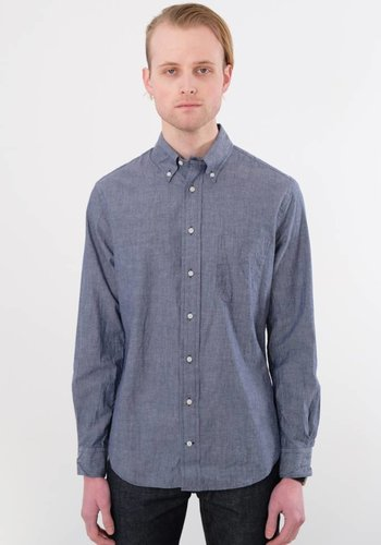 Gitman Vintage Long Sleeve Japanese Chambray Shirt