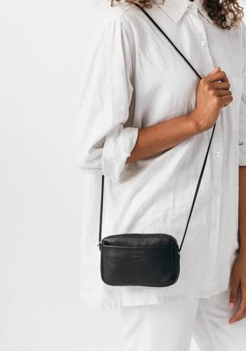 Baggu Leather Mini Zipper Purse