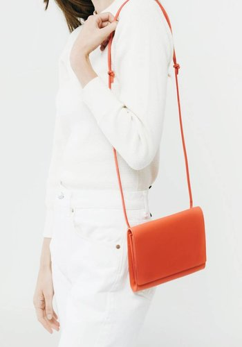 Baggu Leather Compact Purse