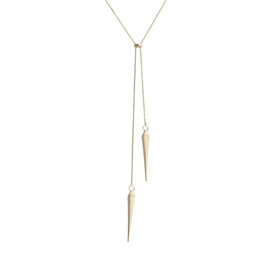 Convex Lariat Necklace