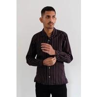 Long Sleeve Striped Pajama Shirt