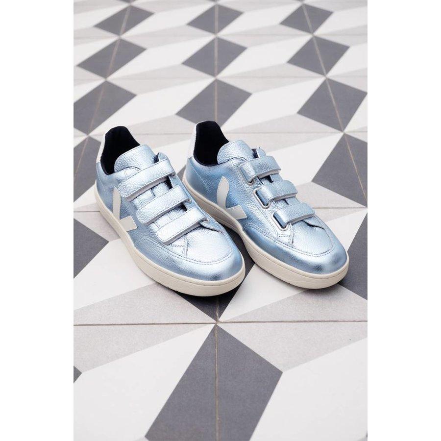 V-12 Leather Velcro Sneaker