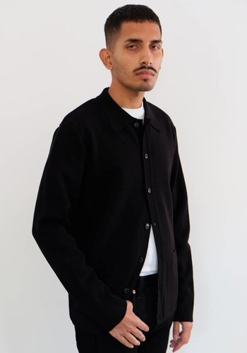 Sunspel Merino Button Jacket