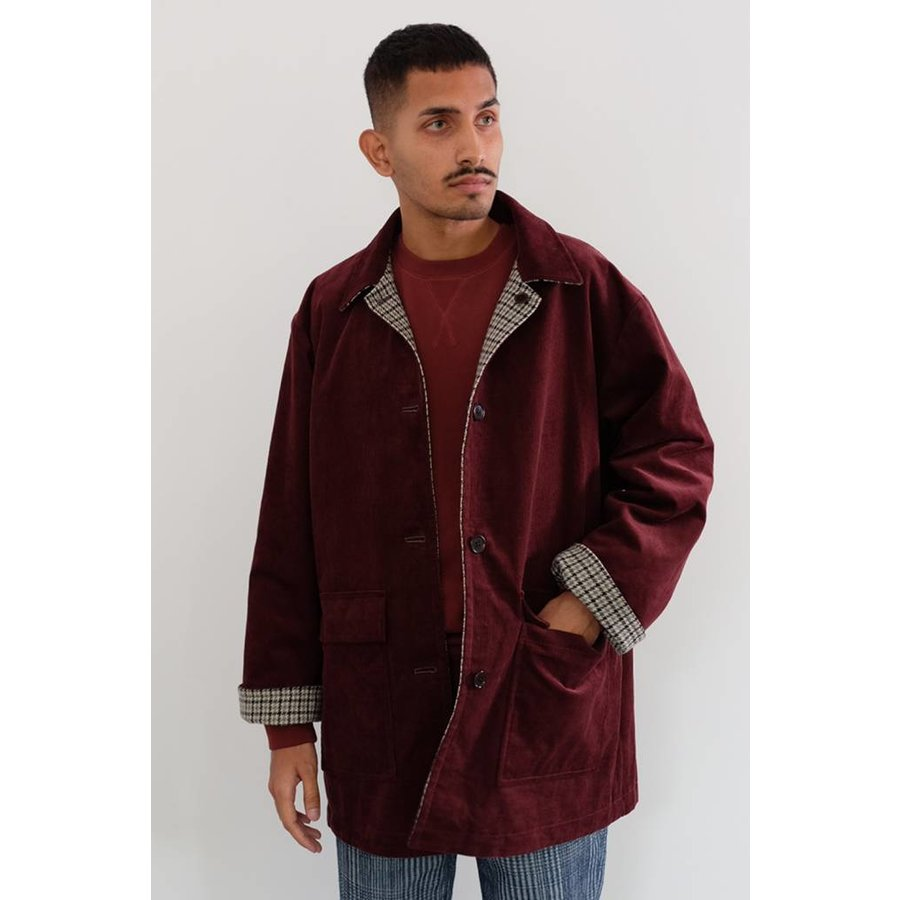 Reversible Gun Club Jacket