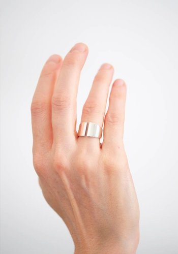 Kristen Elspeth Split Myth Ring